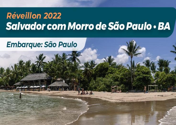 Réveillon Salvador com Morro de São Paulo