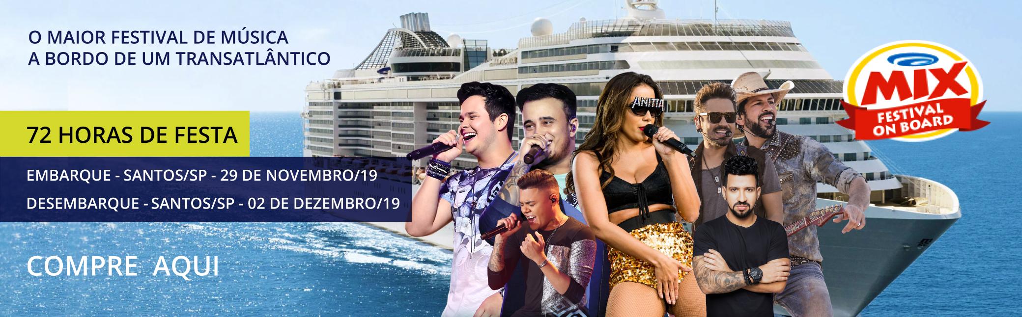 Cruzeiro Mix - Festival On Board