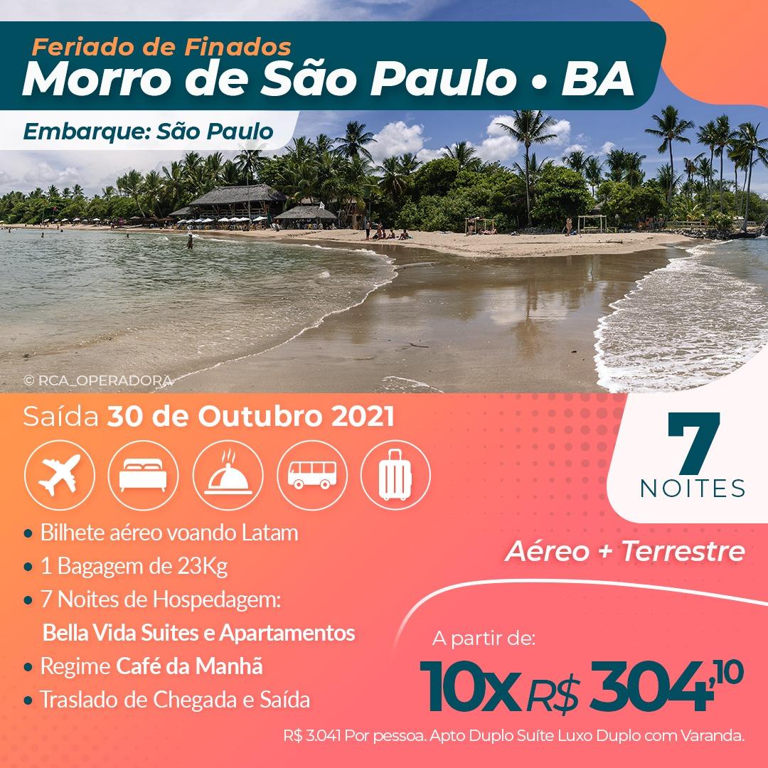 MORRO DE SÃO PAULO - FERIADO